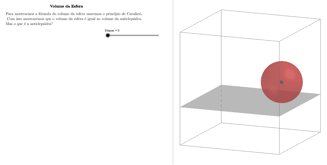Movimente o seletor etapas e marque as caixas de Esconder/Mostrar