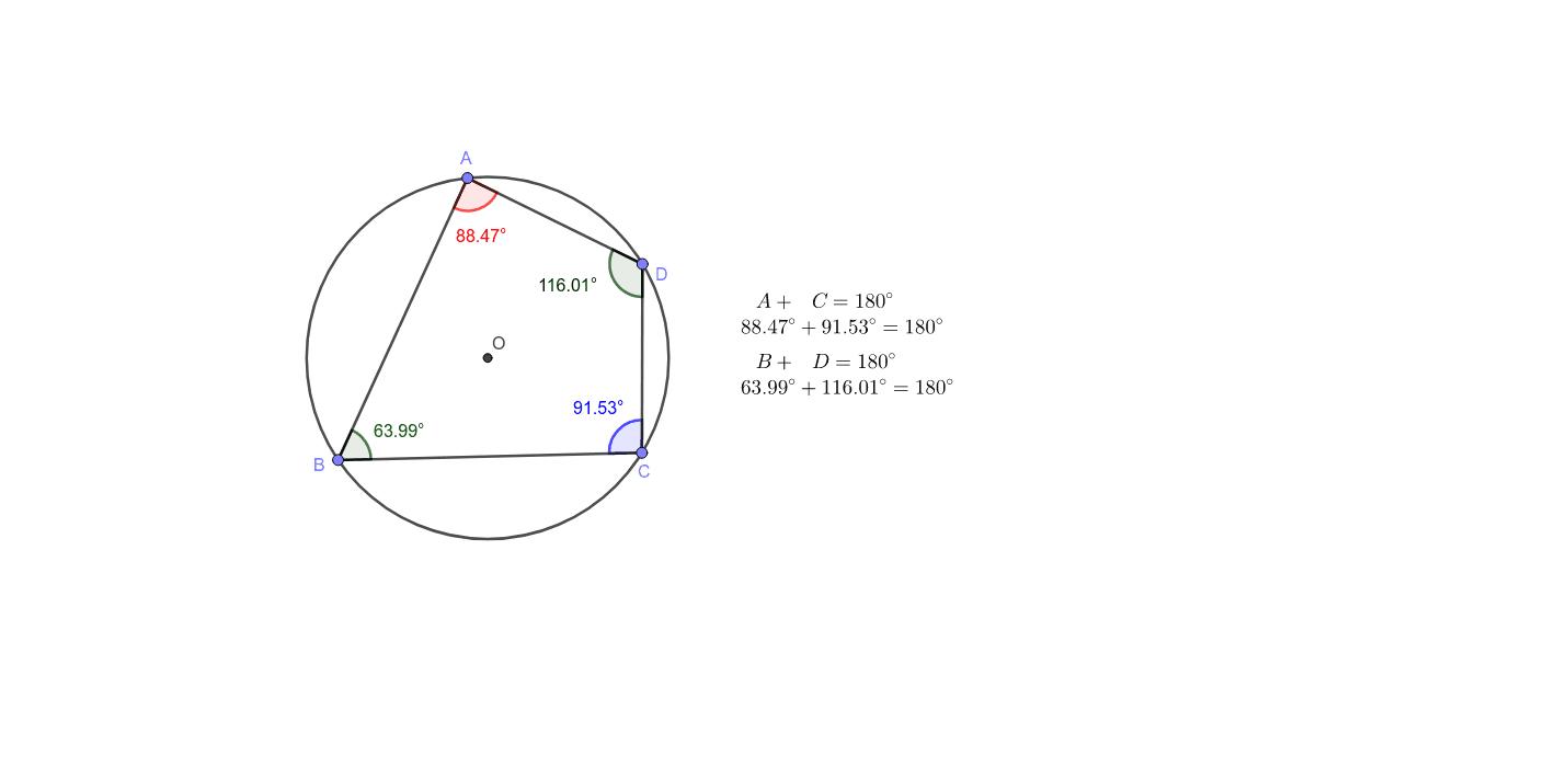 接する 四角形 に 内 円