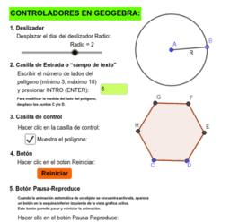 Controladores en Geogebra