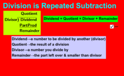 Division is Repeated Subtraction