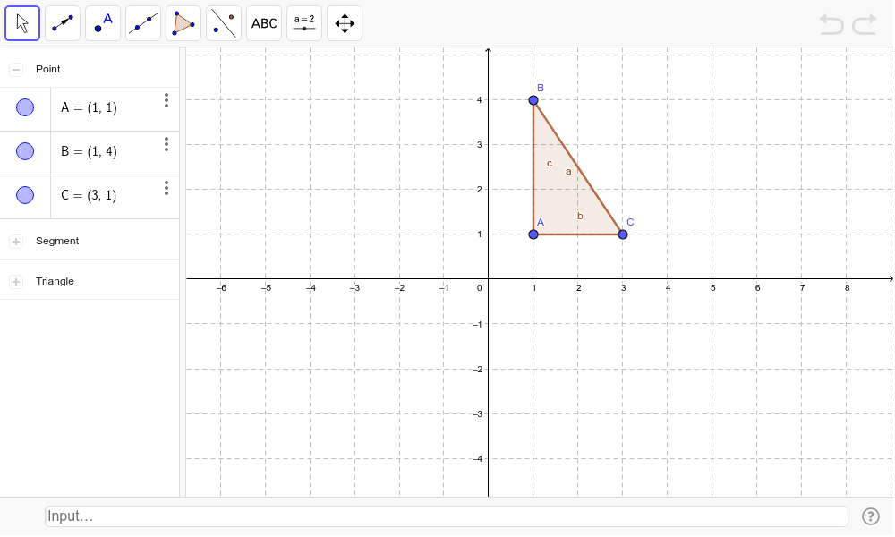 Demonstrate all rigid motions: (Translate along a vector, Reflect along the x axis, rotate 90 degrees) Press Enter to start activity