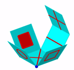 cube faces distinctes