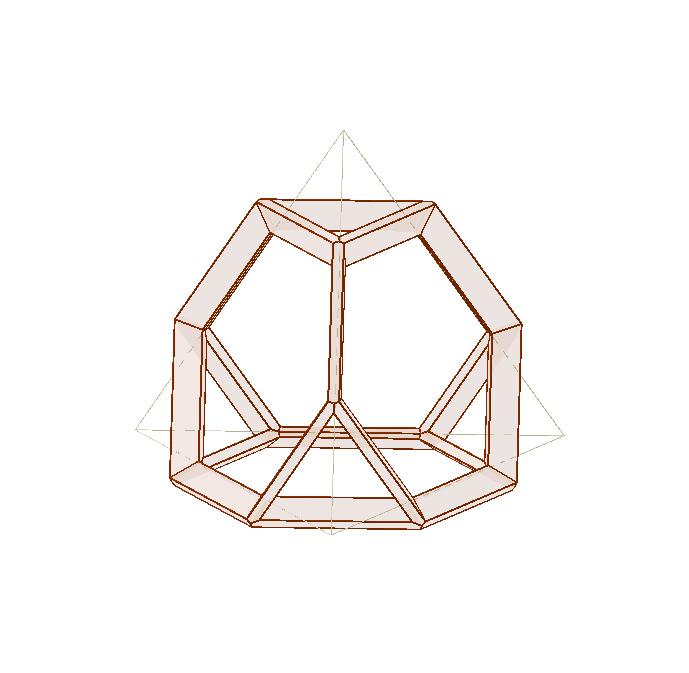 truncated tetrahedron frame Drücke die Eingabetaste um die Aktivität zu starten