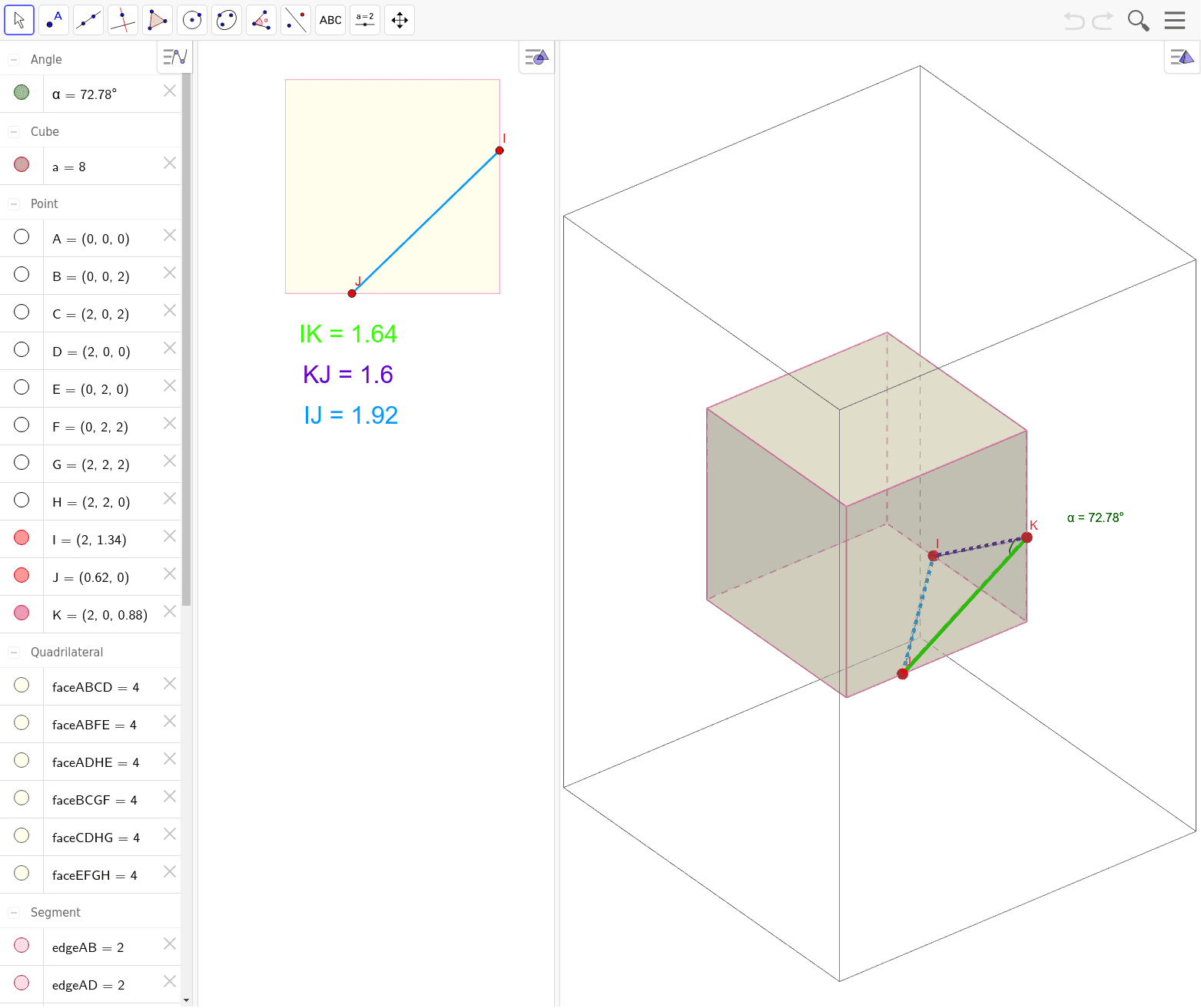 Cutting a Pyramid from a Cube