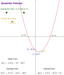 Quadratic-Palooza Tool II