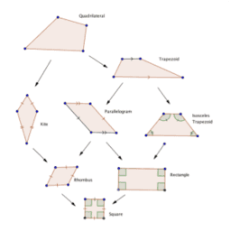 Quadrilaterals with Diagonals
