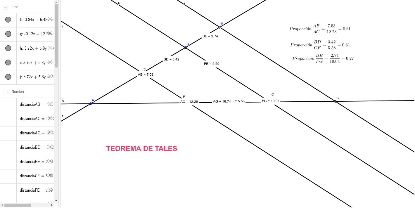 ANÁLISIS DEL TEOREMA Press Enter to start activity