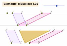 Sobre àrees de paral·lelograms