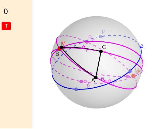 A gömbi geometriában Press Enter to start activity