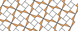 Pythagorean Theorem by Tessellation # 75 Tiling