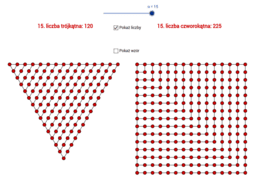 Liczby trójkątne i czworokątne