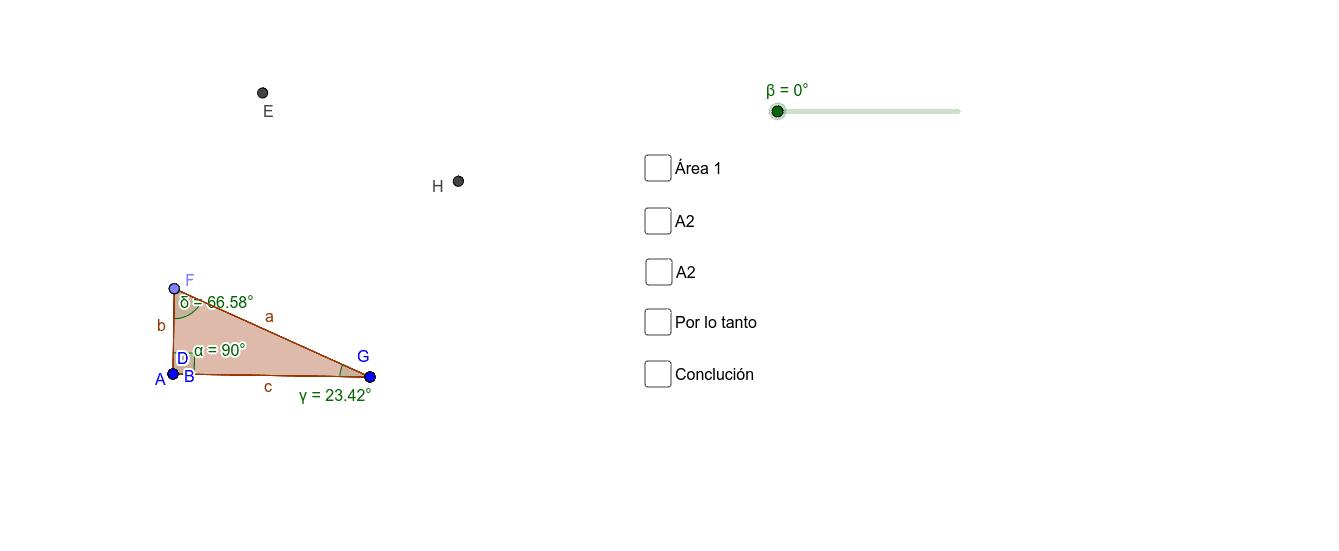 Teorema de Pitágoras Demostración Presiona Intro para comenzar la actividad