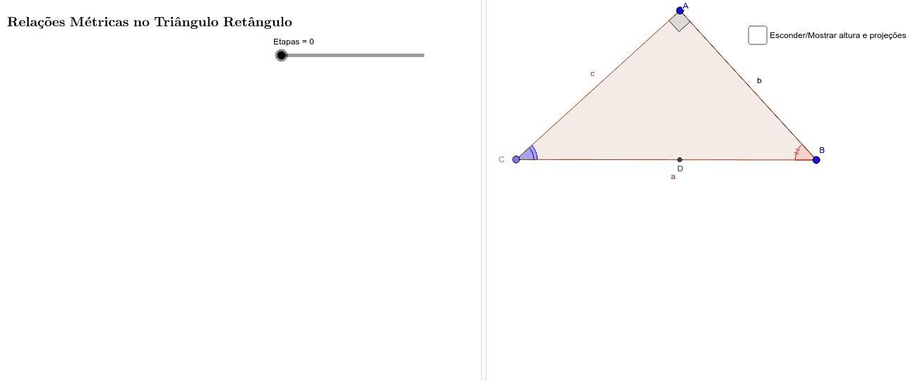 Identificação dos Triângulos Semelhantes