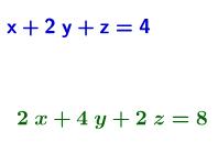 Infinitely Many Solutions System 2
