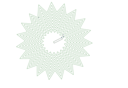 Spirale d'étoiles