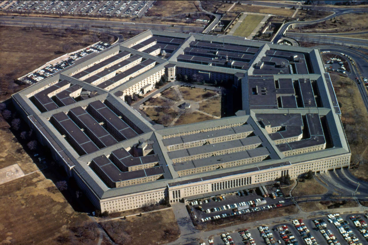 Pentagon in Arlington, nabij Washington D.C.