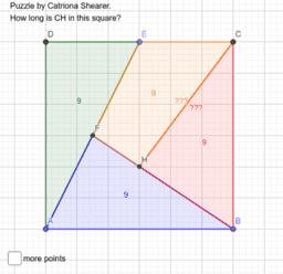 Catriona Shearer Square Puzzle