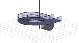 Spiralförmige Auffahrt 1