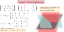 Sistemas de ecuaciones y Gauss. Matemáticas Bachillerato