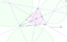 一点で交わる直線