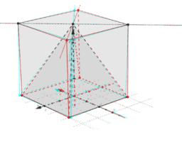 Forklaring på formel for rumfang af en pyramide