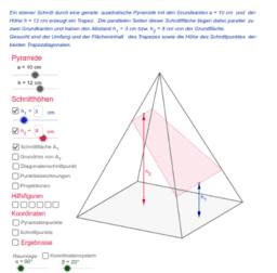 Pyramidenschnitte