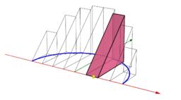 圓柱體斜切塊體積