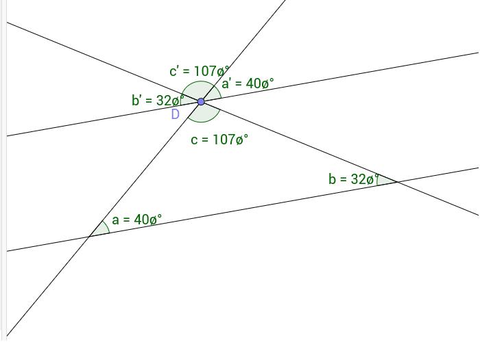 Hvorfor er vinkelsummen av en trekant 180 grader Press Enter to start activity