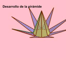 Desarrollo de una pirámide