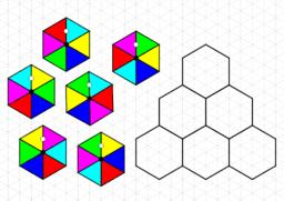 Hexágonos de colores
