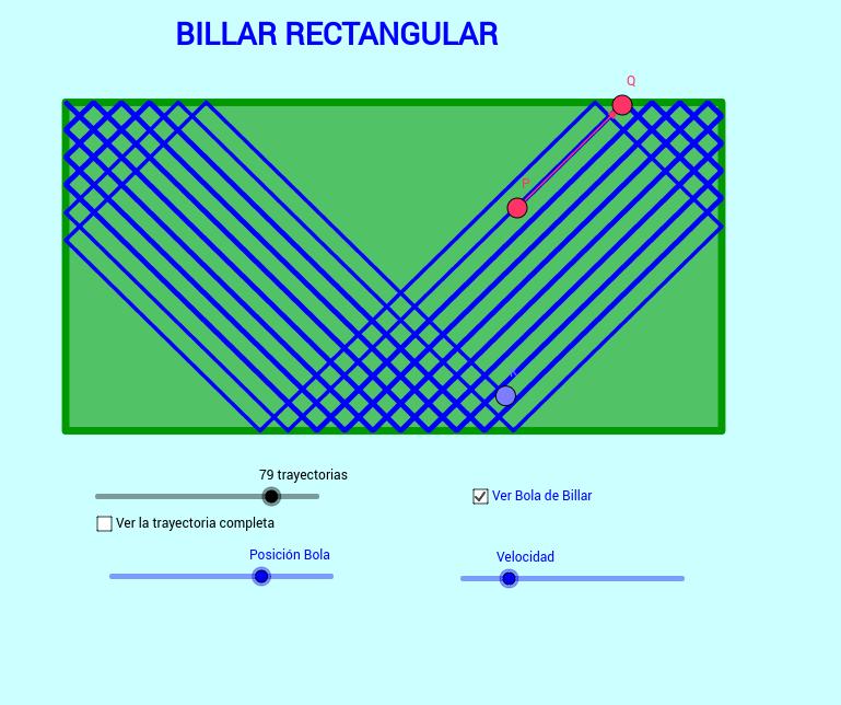 Billar rectangular