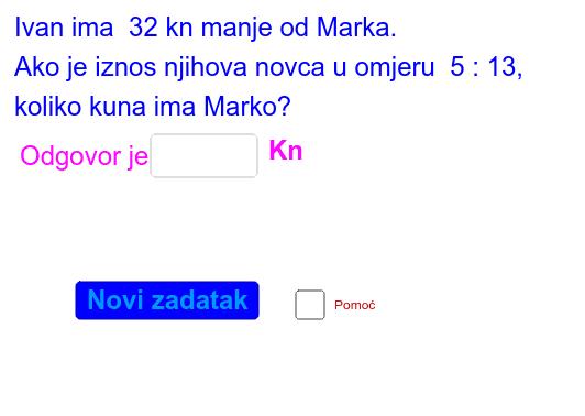 Primjer 2.  Pritisnite Enter kako bi pokrenuli aktivnost