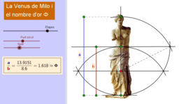 La Venus de Milo i el nombre d'or