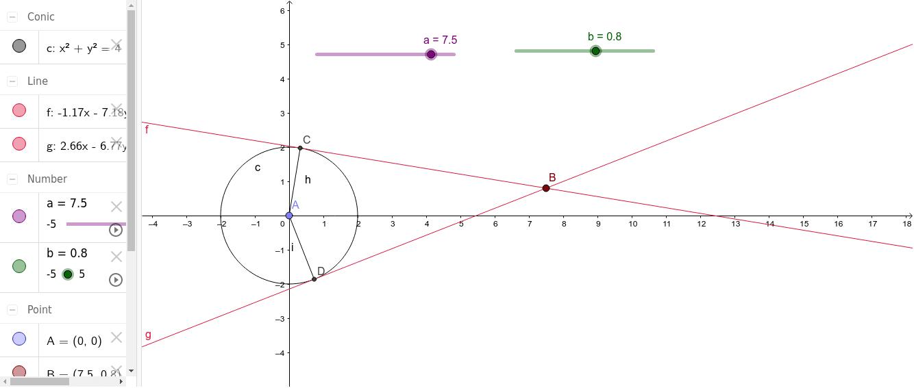 Garis Singgung Lingkaran membentuk suatu Layang-layang