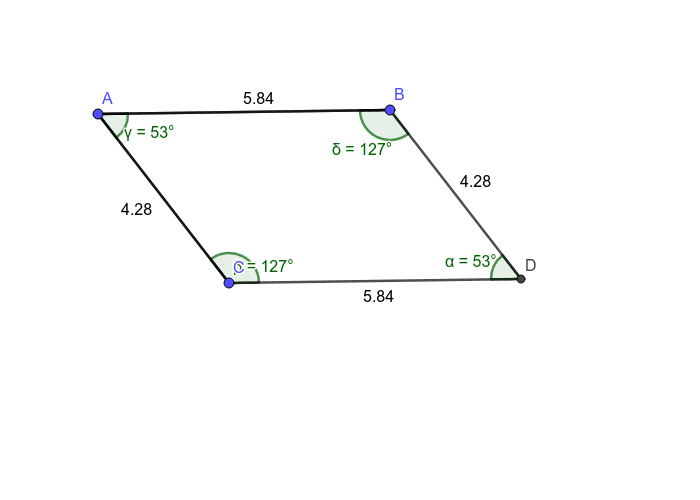 Parallelogram-Sides and Angles