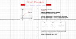 Actividad Función Lineal