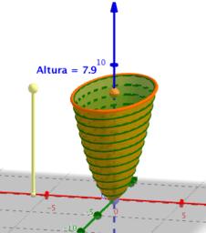 Volumen de un paraboloide elipsoidal