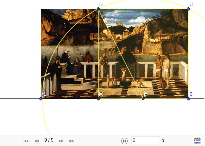 """Konstrukcija aurona na Bellinijevoj slici """"Alegorija Čistilišta"""" Pritisnite Enter kako bi započeli aktivnost"""