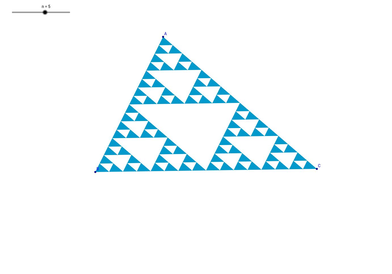시어핀스키 삼각형(Sierpinski triangle)