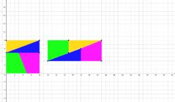 Copie de Puzzle de Lewis Carroll - Colinéarité de vecteurs