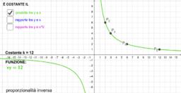 Funzioni e proporzionalità