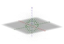 Radial Vector Field in 3D