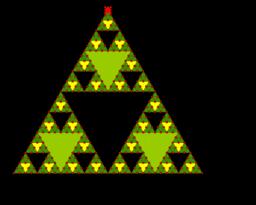 Árbol de Navidad fractal