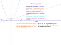 Parabola - M241 Worksheet