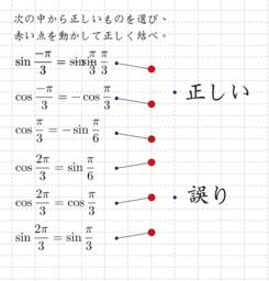 三角関数の関係式
