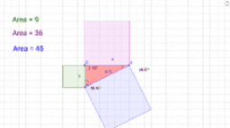 Squares of the sides of Triangles