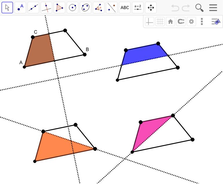 Isosceles Trapezoid Reflectional Symmetry Press Enter to start activity