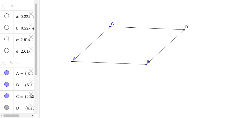 Assignment 2- Parallelogram Press Enter to start activity