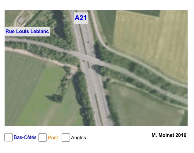 """Angles Alternes-Internes A21 et rue Louis Leblanc Tapez """"Entrée"""" pour démarrer l'activité"""
