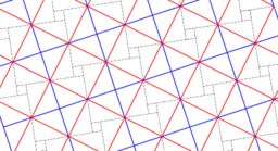 Pythagorean Theorem by Tessellation # 76 Tiling